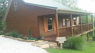 Photo for Come enjoy this newly built Hillside country Cabin  located near buffalo river