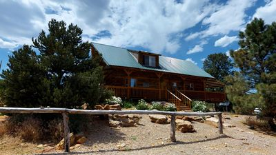 Photo for Large Group Rentals! Lodge, 5 Cabins, BBQ, Campfire Bowl, Kitchens, Dining Hall,