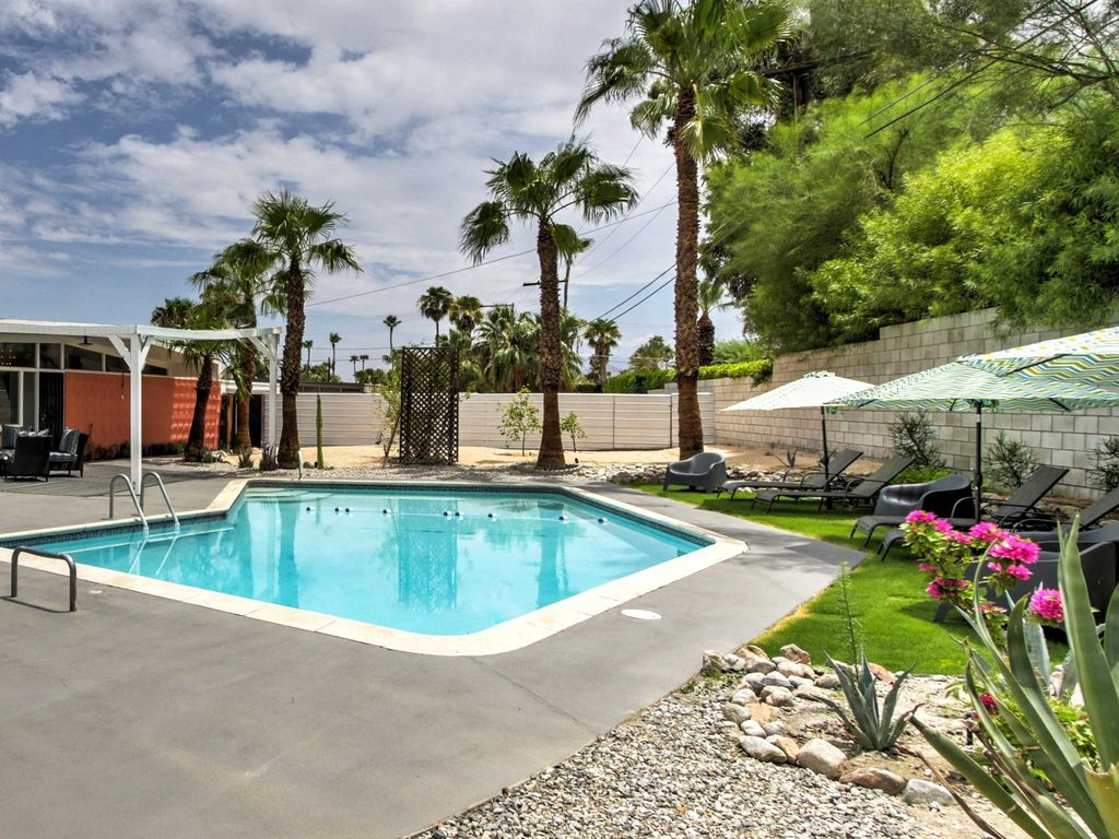 Discover Palm Springs in this stunning 3 bedroom  2 bathroom vacation  rental home. NEW  3BR Palm Springs House w Pool   Hot      HomeAway Palm Springs