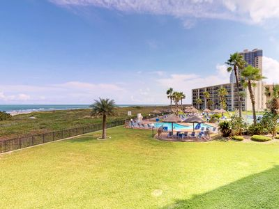 Dog-friendly, oceanfront condo w/ shared pools, hot tubs, tennis courts