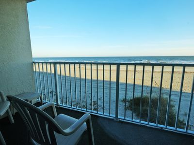 Photo for Sands Beach Club (#123) Two Bedroom Ocean Front Condo!!!