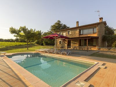 Photo for House in the countryside with private pool and barbecue. 5 minutes from Banyoles