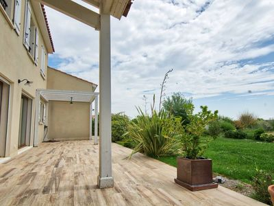 Photo for Large House on wooded land less than 200m from the beach