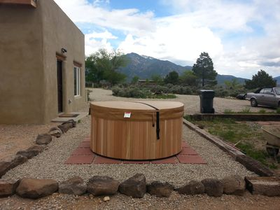 Photo for New adobe guest house - mountain views - great location - hot tub