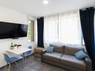 Photo for New studio for 2 people 5 minutes from Reims Cathedral Wi-Fi parking