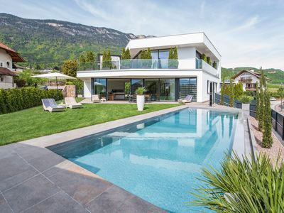 Photo for Villa Aich 5 ***** Eppan-your holiday home with private pool -near Kalterer See and Bolzano