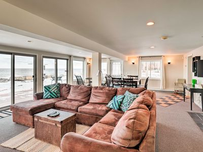 Photo for Waterfront Home w/ Private Beach on Lake Ontario!