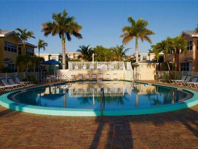 Photo for Beautiful Poolside and Waterview Barefoot Beach condo - B203 (GRAND OPENING!!!)