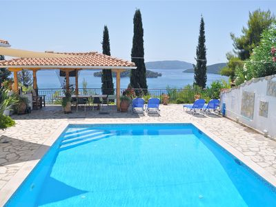 Photo for Beautiful Villa With Stunning Views, Walking distance to the beach and Tavanas