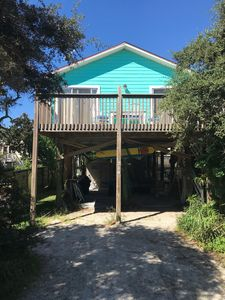 Photo for Steps to the Beach with outdoor patio, gas grill, new kitchen and large deck.