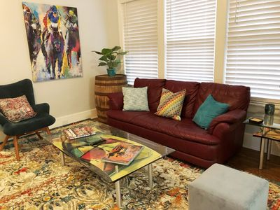 Photo for Hip 3BR/2BA Highlands Loft on BEST Part of Bardstown Road. Comfy & Convenient!