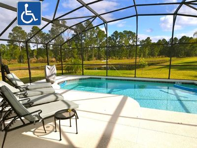Photo for 15 Min to Disney, Wheelchair Accessible, Dog Friendly, Free WIFI
