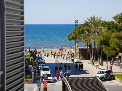 Photo for VEGA with lateral sea view, beach at 100m