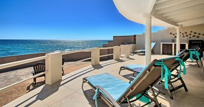 Photo for More 5 STAR REVIEWS than any other property! BEACHFRONT. PRIVATE.  IMMACULATE.