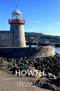 Howth Harbour, across from the apartment, everything is on your doorstep