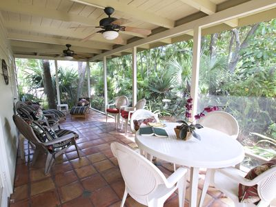 Photo for Tropical Bungalow-5 MIN WALK TO BEACH-15 MIN TO VILLAGE-MONTHLY RENTAL-PETS OK