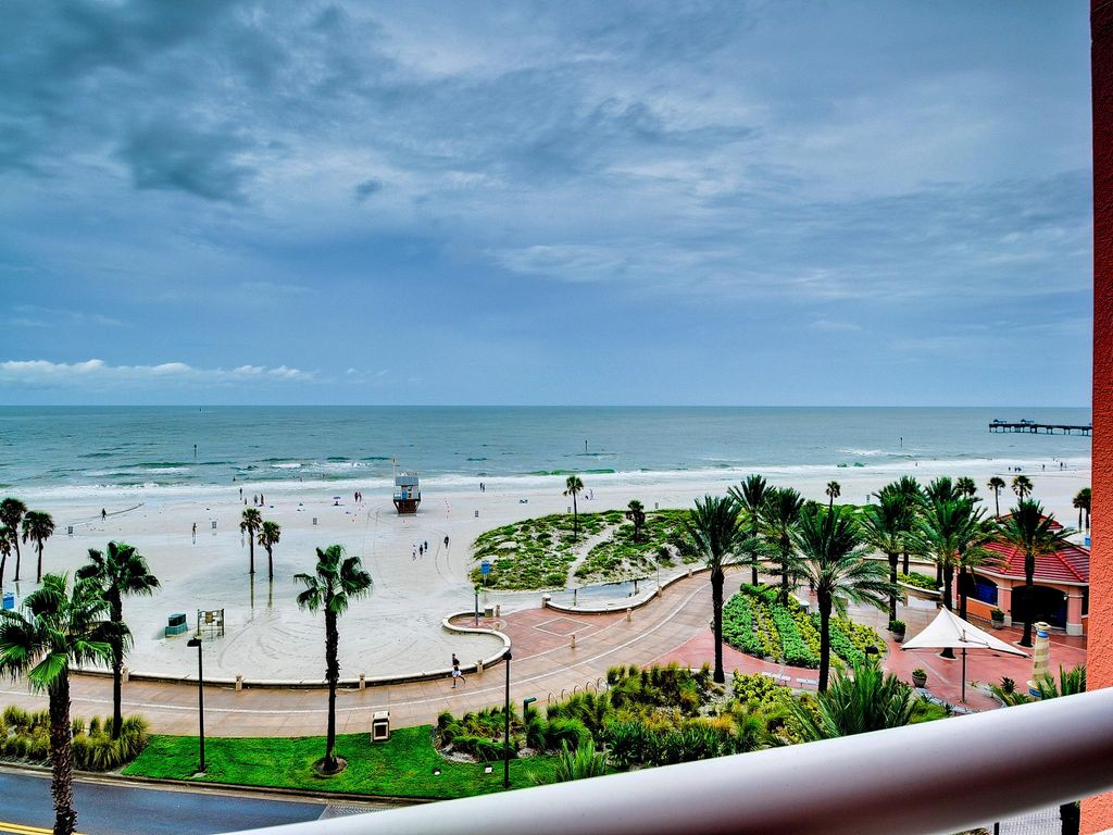 Aqualea Hyatt Residence 504 Luxury Condo At Clearwater Beach