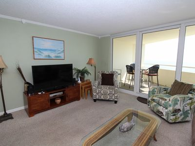Photo for Perdido Sun 712- Beach Front View + Great location in heart of Perdido Key
