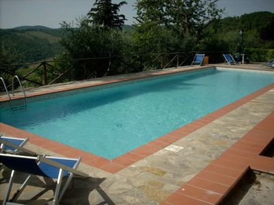 Photo for Rustico with pool in the beautiful wine-Chianti.