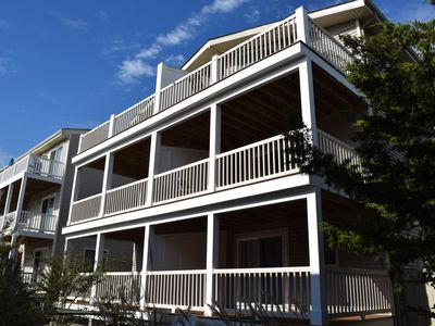 Photo for 3 new decks, paint and decor. Spacious parking, Walking distance to the ACME and shopping center, Dealy Field, Maritas, Surfside Fitness and numerous restaurants. The beach at 59th Street is guarded with swimming and boogie boarding allowed;