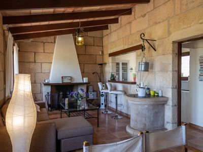 Photo for Cosy Country House with Large Garden, Mountain View, Patio & Wi-Fi; Parking Available