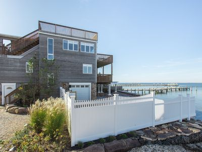 Photo for Bayfront Home with Panoramic Water Views and an In-Ground Saltwater Pool.