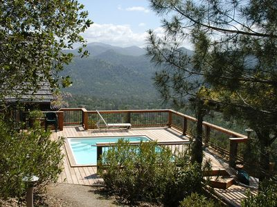 Photo for Indian Peak Ranch Mountaintop Hideaway ~ Pool, Spa & 100-mile views