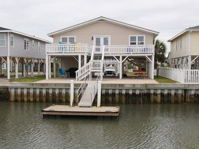 Photo for Ce Chell, Spacious 4 BR Channel Home with Beautiful Channel Views and Floating Dock