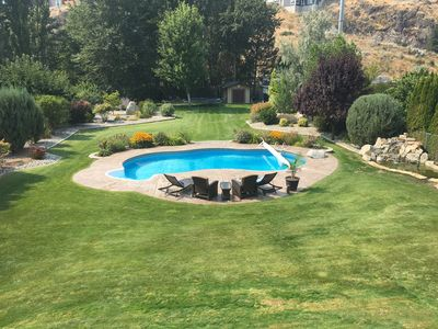 Photo for Executive home on 1/2 acre Park with a pool