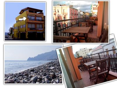 Photo for Vacation Rentals in Sicily! 30meters from the beach and only 16km from Taormina