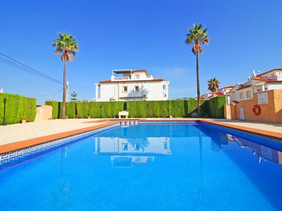 Photo for Quiet Casanova 1 bungalow with pool, air conditioning and terrace in Calpe near the sea