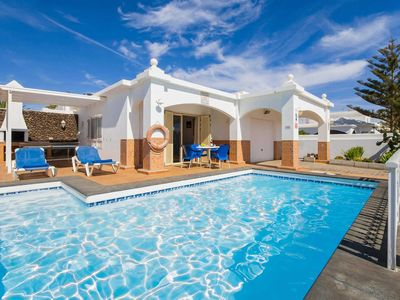 Photo for Villa w/pool & BBQ, within walking distance to Puerto del & the beach