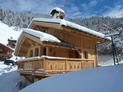 Photo for Beautiful New Chalet With Amazing Views Over The Ski Resort And Surrounding Moun