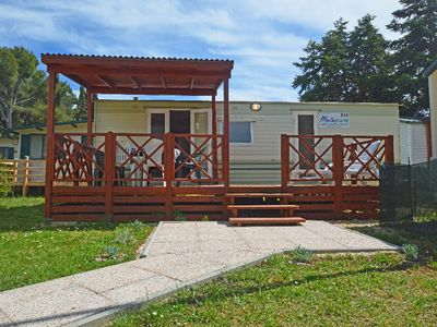 Photo for 2 bedroom Villa, sleeps 4 in Štinjan with Air Con and WiFi