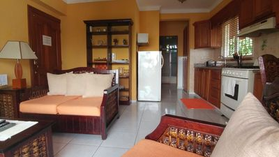 Photo for Cozy 1-bedroom-apartment just 5 minutes from Zona Colonial