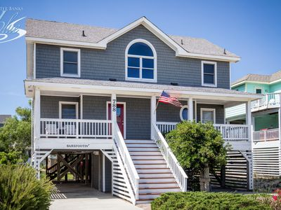Photo for Barefootin' | 499 ft from the beach | Hot Tub, Community Pool