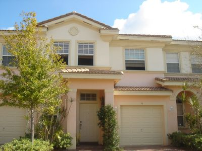 Photo for Beautiful, bright and spacious furnished townhouse near downtown Delray Beach