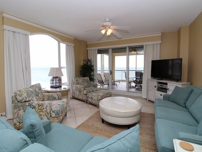 Photo for Beach Colony West 8A- Beach Front unit with large terrace & amazing views!