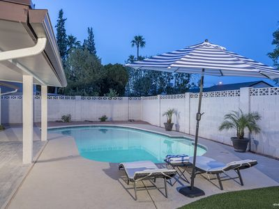 Photo for Relax Poolside at Old Town Scottsdale Home