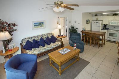 Unit A, Family Room.