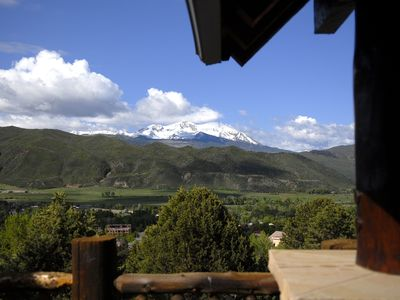 Photo for Roaring Fork Valley Lodge - Spectacular view - walk to historic downtown Basalt