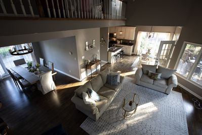 This home was made to host family and friends! It has 5 bedrooms for those who n