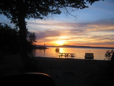Photo for 3BR Chalet Vacation Rental in Frye Island, Maine