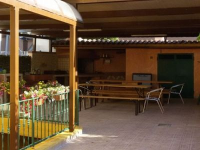 Photo for BBQ area with furnished veranda and WIFI