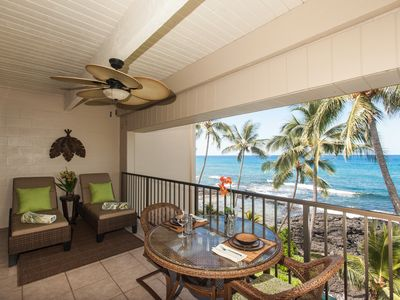 Photo for Lovely Updated Oceanfront Private Top Floor Condo