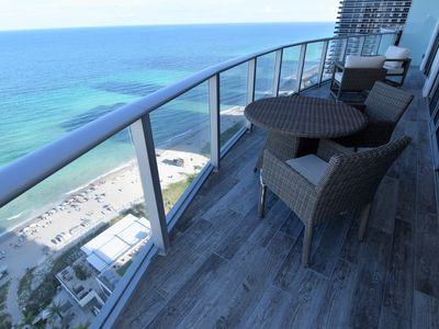 Photo for LUXURY 2 BEDROOM OCEAN FRONT RESIDENCE AT HYDE BEACH!