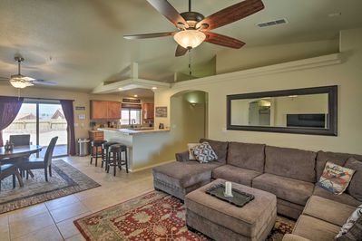Spacious and well-appointed, this family home is the perfect Havasu host!