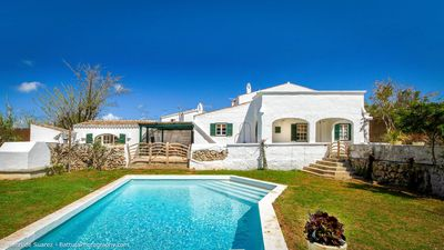 Photo for Authentic Menorcan home renovated with style, perfect location on the island