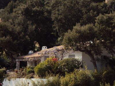 Photo for Charming Villa, Panoramic Sea View from Cape Lardier to Levant Island