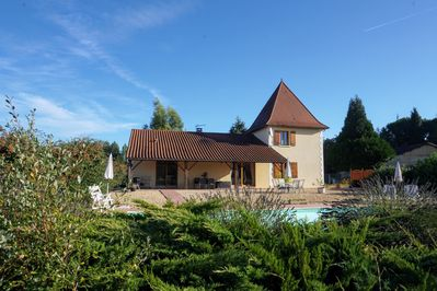 La Petite Tour Villa with private pool and grounds